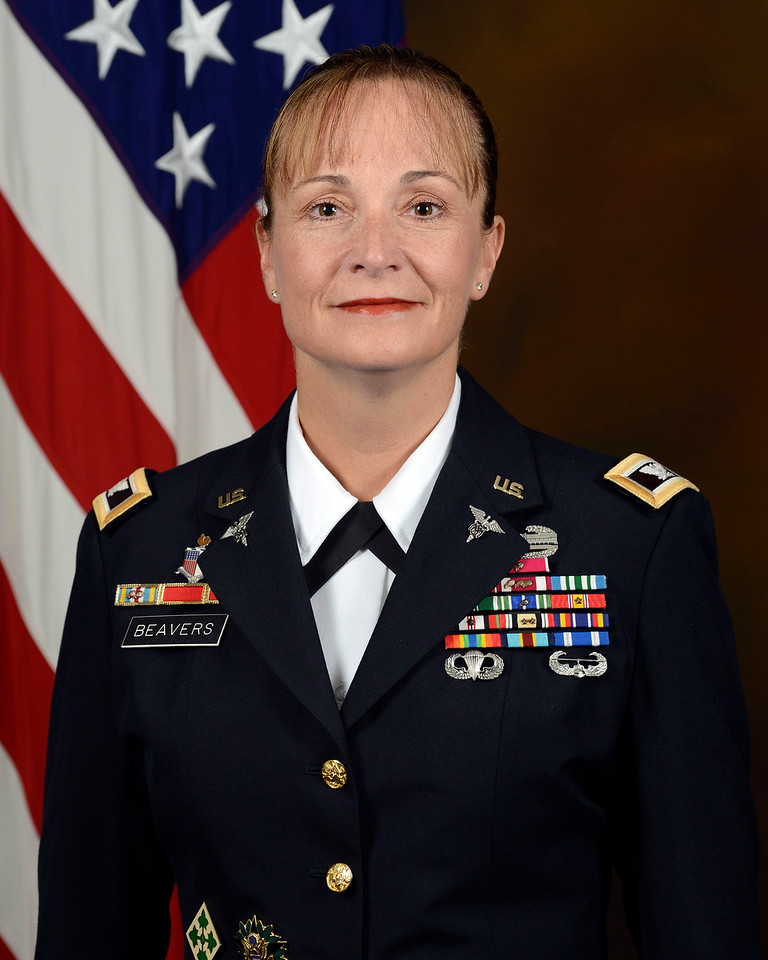 Col. Beverly Beavers, Medical Service Corps, United States Army