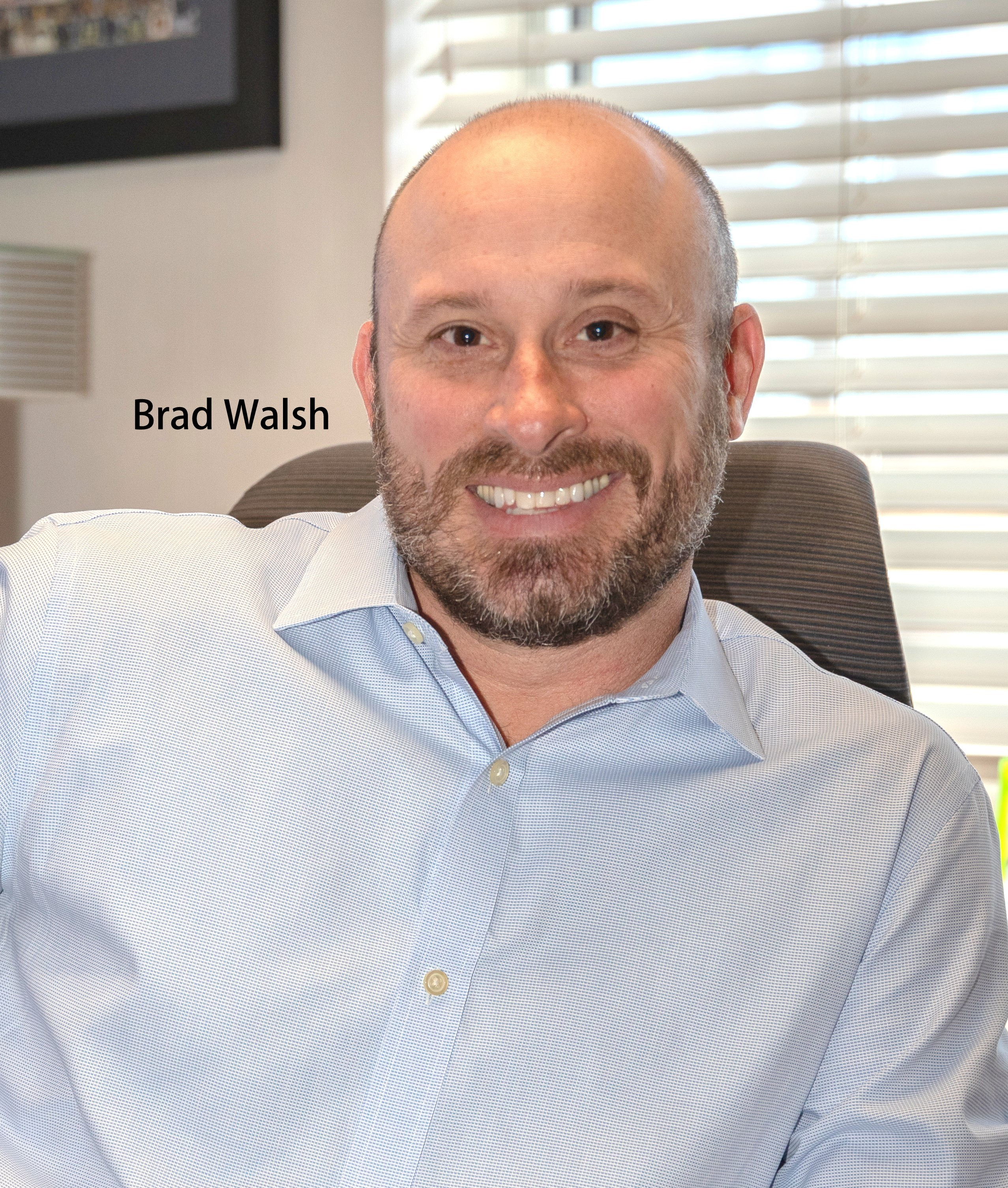 Brad Walsh, President and CEO